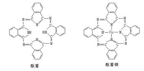 分子结构如下图,酞菁分子中氮原子采用的杂化方式有